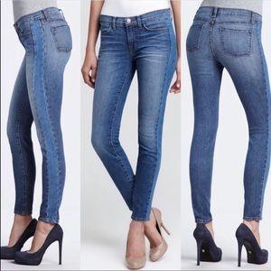 J Brand Chrissy Patch Bliss Skinny Jeans